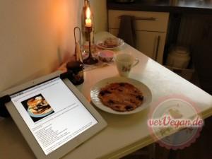 Bestmöglicher Start in den Tag – Blaubeer-Pfannkuchen ;)