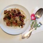 Auch bei den Nudeln keine Kompromisse in Form von (herkömmlichem) Weizen machen! Über meine Vorliebe für Kamut-Pasta – in Variationen…