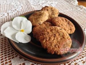 cookies tahin zitrone